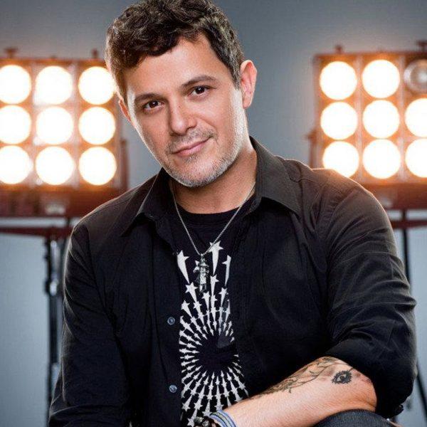 Spanish singer Alejandro Sanz in Noisematch Studios in Miami, FL
