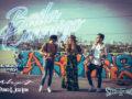 """Promotional art for Alex J's single """"Baila Conmigo"""""""